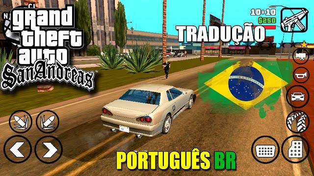 GTA San Andreas Android Tradução PT-BR
