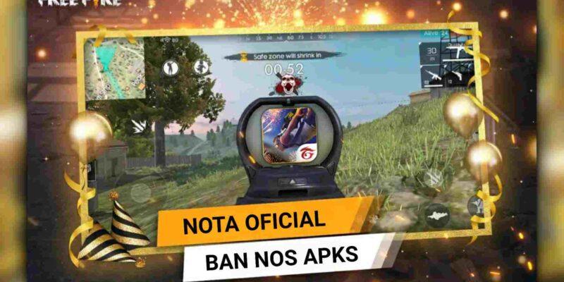 BAN: GARENA Comenta Oficialmente Sobre APKs Modificados