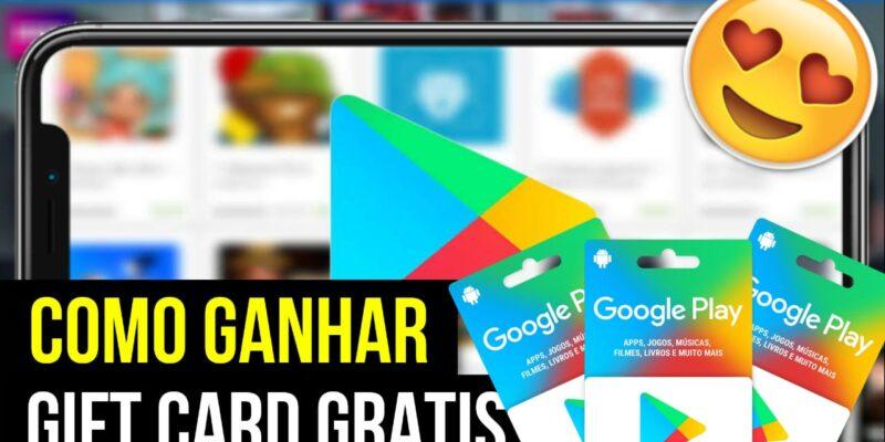 COMO GANHAR GIFT CARDS GRÁTIS