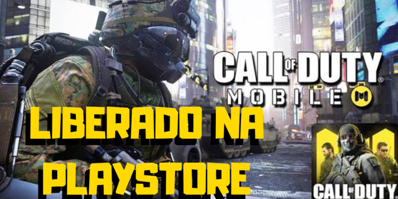 FINALMENTE!! CALL OF DUTY MOBILE LIBERADO NA PLAYSTORE