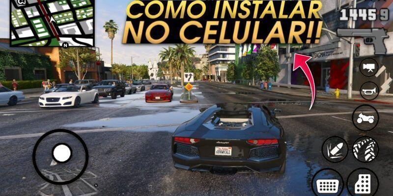 OFICIAL!! GTA 5 ANDROID – COMO INSTALAR E JOGAR EM QUALQUER CELULAR (GTA V MOBILE 2019)