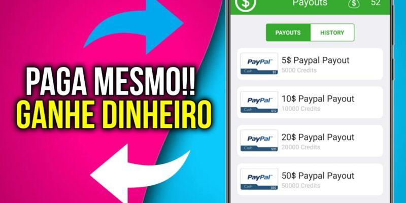Como ganhar dinheiro no Paypal com este aplicativo