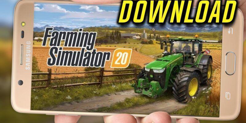 Saiu!! FARMING SIMULATOR 20 para ANDROID/IOS (DOWNLOAD GRÁTIS)