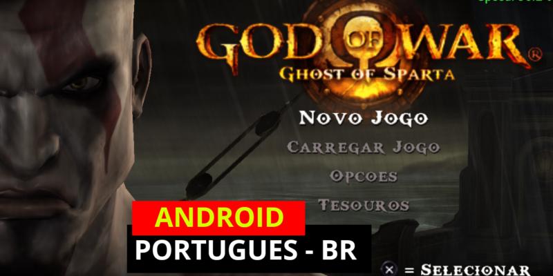 SAIU GOD of WAR Mobile para Qualquer ANDROID – ORIGINAL