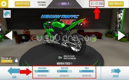 highway Traffic Rider Dinheiro infinito