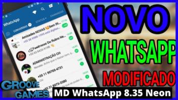 MD WhatsApp 8.35 Neon Super Atualizado E Melhorado
