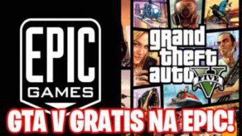 GTA 5 DE GRAÇA! GRAND THEFT AUTO V É NOVO JOGO GRATUITO DE PC DA EPIC GAMES