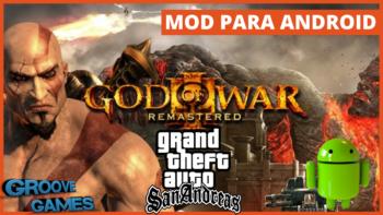 GTA SA: SKIN KRATOS GOD OF WAR + CLEO APK + OBB PT-BR ANDROID